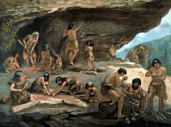 духовная культура в эпоху разложения первобытного общества